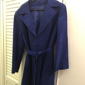 Ultrasuede Coat